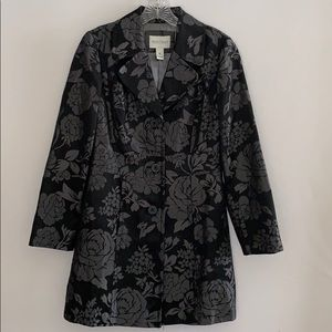 White House Black Market Fitted Coat Size XS